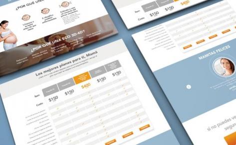 Radiara Landing Pages
